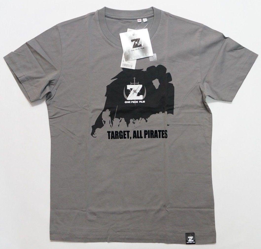 2919029d6da6bc UNIQLO ONE PIECE FILM Z Graphic Short Sleeve T Shirt Gray 076510 Men Women  Unisex Fashion Tshirt Funny Cool Top Cool Funny T Shirts On T Shirt From ...