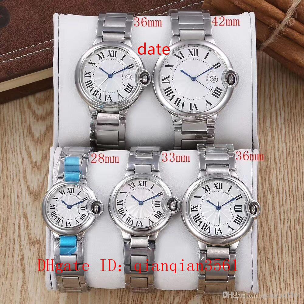 9 Style Hot Brand Watch 28-42mm Stainless steel Wristwatches W69005Z2 W69008Z3 W69012Z4 W69010Z4 W69002Z2 Classic Fashion wrist watch