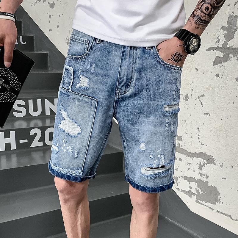 Holes Jogging Self De Équitation Fivepence Jeans D Homme Cultivation Vêtements Men Pants Culotte Mode Pantalon Tl13uJKcF