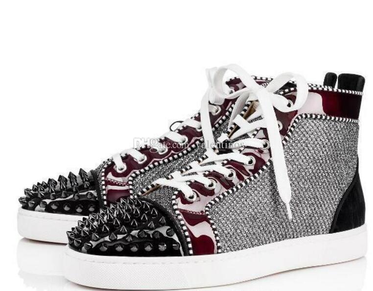 De Hombres Vogue Compre Deporte Rojos Zapatos Zapatillas Original EIWH92D