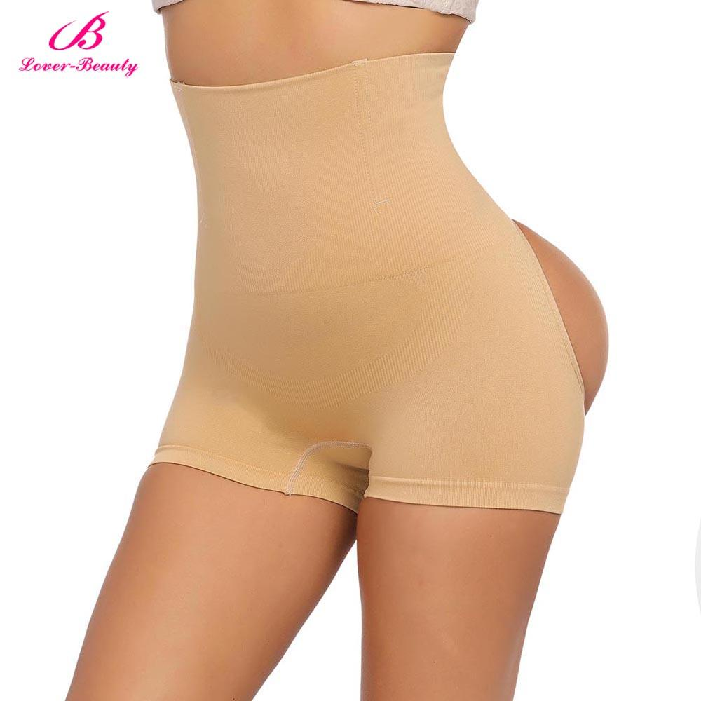 Lover Beauty Womens Shapewear Seamless Briefs Butt Lifter High Waist Body Shaper Control Panties Hips Lift Up Slimming Underwear