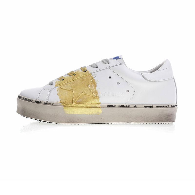 caab2d88b8 dress sneaker Designer Shoes Golden Goose Ggdb old style sneakers Genuine  Leather Villous Dermis Mens Women Luxury Superstar trainers 35-46