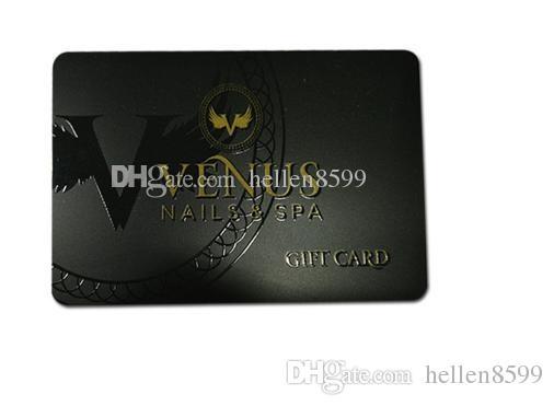 Acheter Impression De Cartes Visite En Plastique PVC Sur Mesure 21106 Du Hellen8599