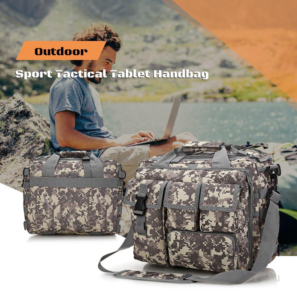 9e0be3ee87 2019 Multifunctional Tactical Shoulder Bag Nylon Messenger Bag Laptop  Handbags Briefcase Outdoor Climbing Hiking Men Camp Travel Bags From  Dhtop1shop