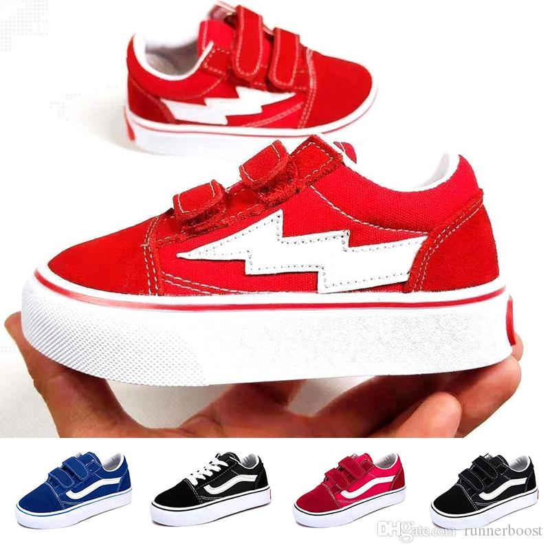 1f08cd1e3fbd New Designer Luxury Brand Kids Canvas Shoes For Boy Girl Fashion Classic  Casual Shoes Sports Canvas Children Trainers Shoes Sports Sneakers Sports  Shorts ...