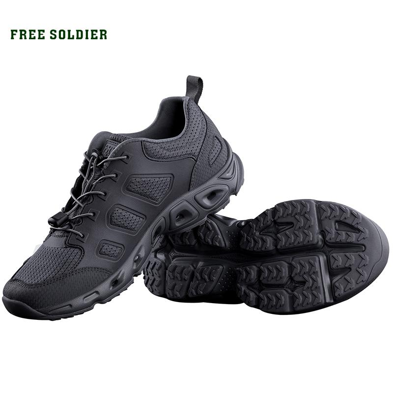 FREE SOLDIER outdoor sports tactical upstream shoes breathable quick-drying shoes for men for camping hiking