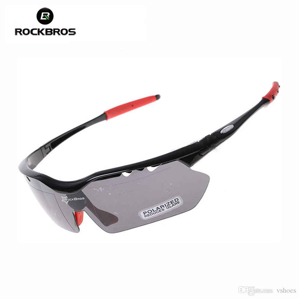 2b566bfe75 RockBros Polarized Cycling Sun Glasses Outdoor Sports Bicycle Glasses Bike  Sunglasses TR90 Goggles Eyewear 5 Lens  10009  235258 From Vshoes