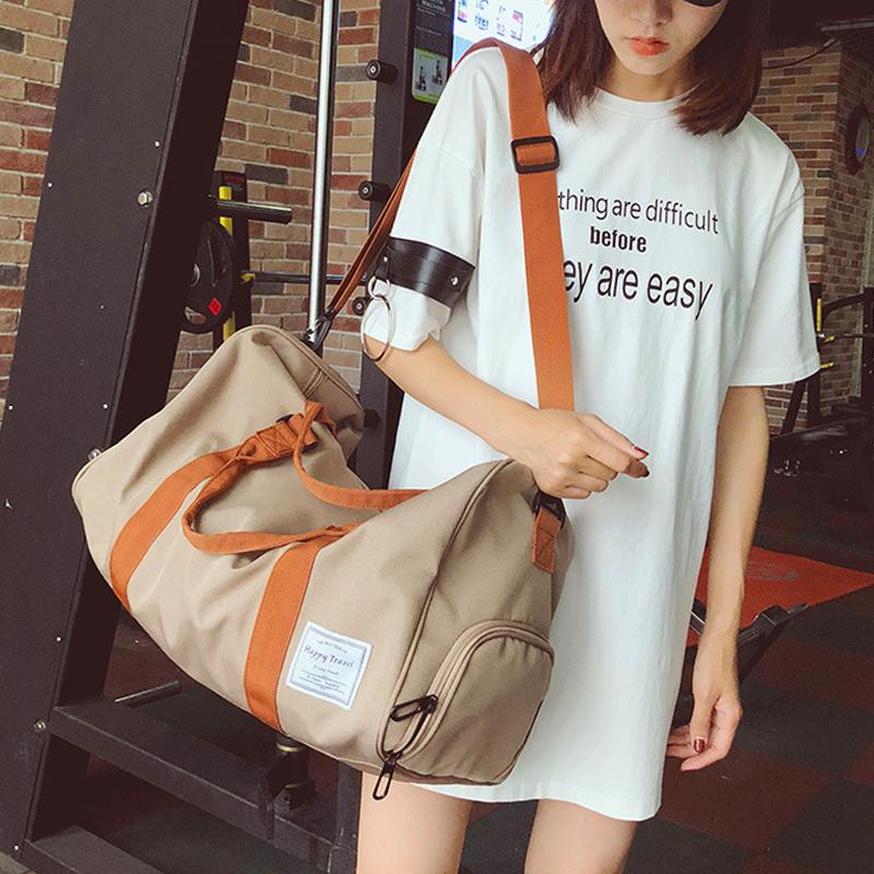 c53d2e5054 Designer Duffle Travel Bag Overnight Bags Women Large Capacity Fashion Girls  Men Travel Bags Red Hand Luggage Sports Gym Bag Messenger Bags Laptop Bags  From ...