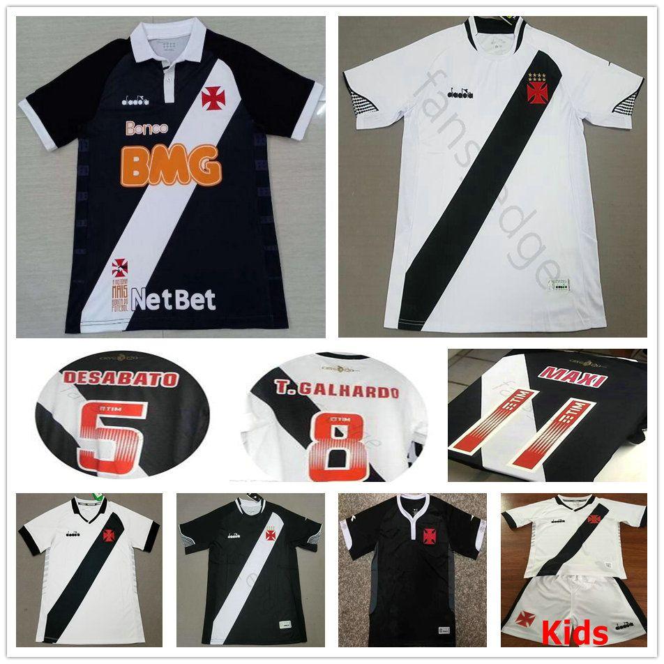01e227436 2019 2019 2020 Vasco Da Gama Soccer Jerseys Muriq Fabiano MAXI Y.PIKACHU  A.RIOS Custom Home Away White Black Adult Kids Football Shirt From  Fans edge