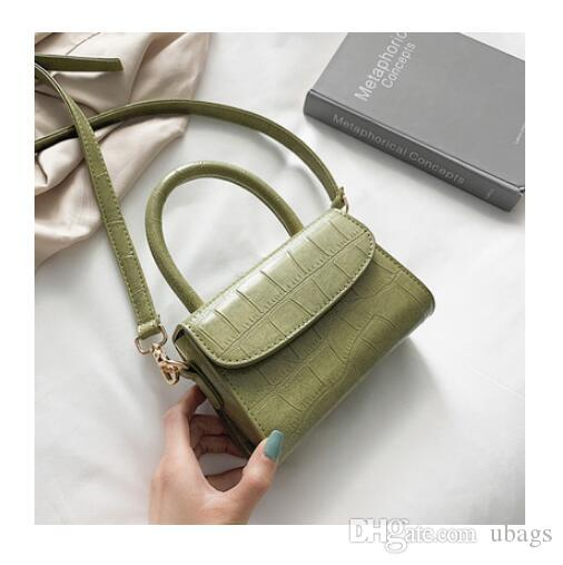 wholesale Crocodile Pattern Crossbody Bags For Women 2019 Small Chain Handbag small bag PU Leather Hand Bag Ladies Designer Evening Bags
