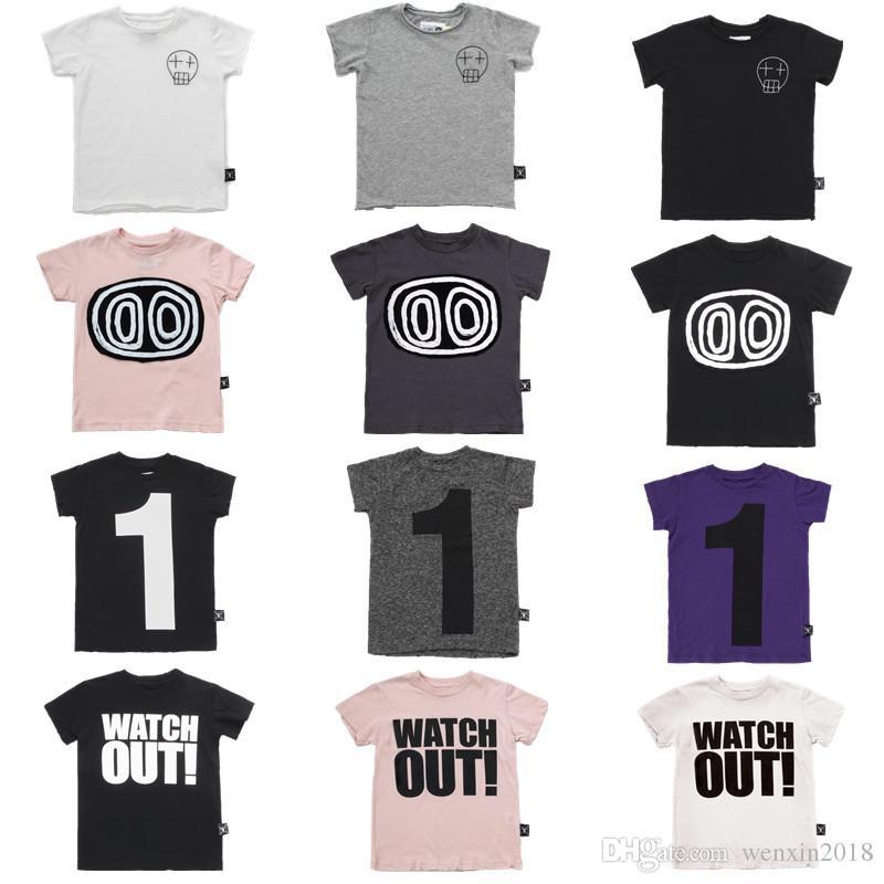 8f750b895c532 2019 Nouveau Nununu T-shirt Cool Pour Les Enfants Garçons Filles Hauts  Courtes Manches T Chemises Boy And Girl Nununu T-shirt Online with   12.11 Piece on ...