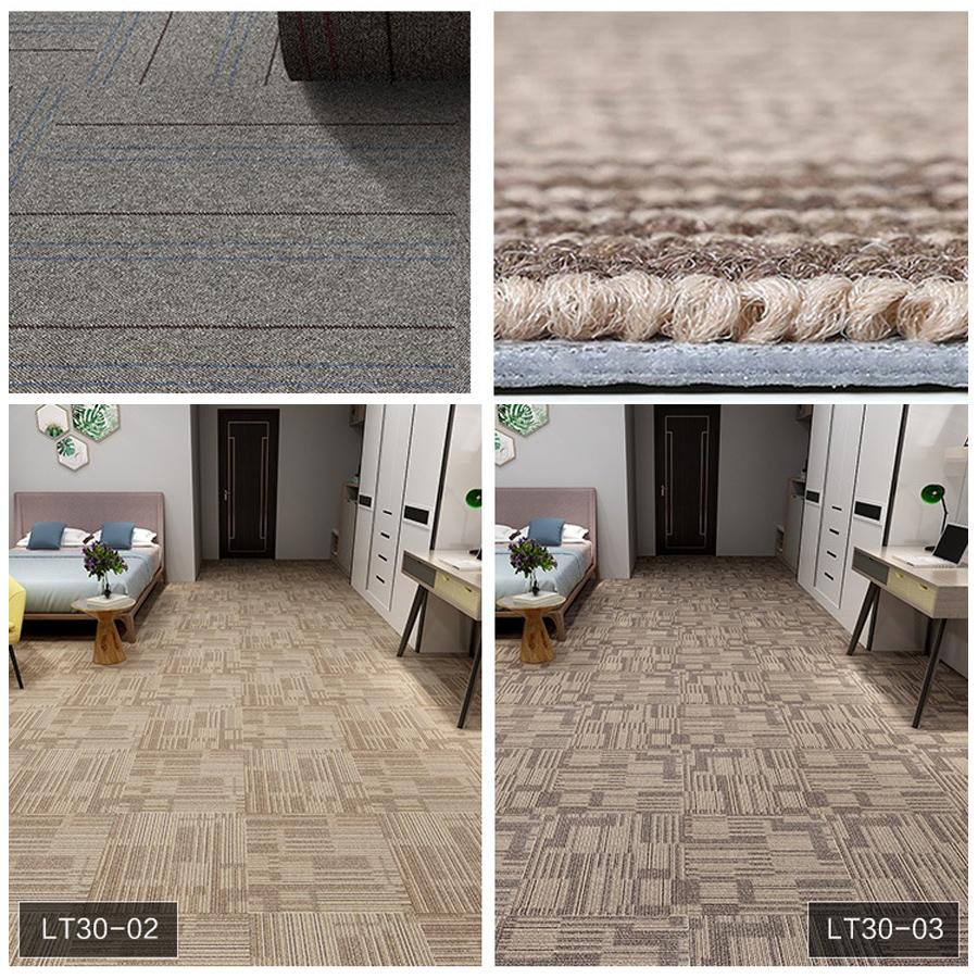 Delicieux Antiwear Thicken PVC DIY Carpet 19.7*19.7inch Square Durable Spliceable Home  Office Carpet Engineering Commercial Hotel Carpet DH1186 12 T03 Patterned  ...