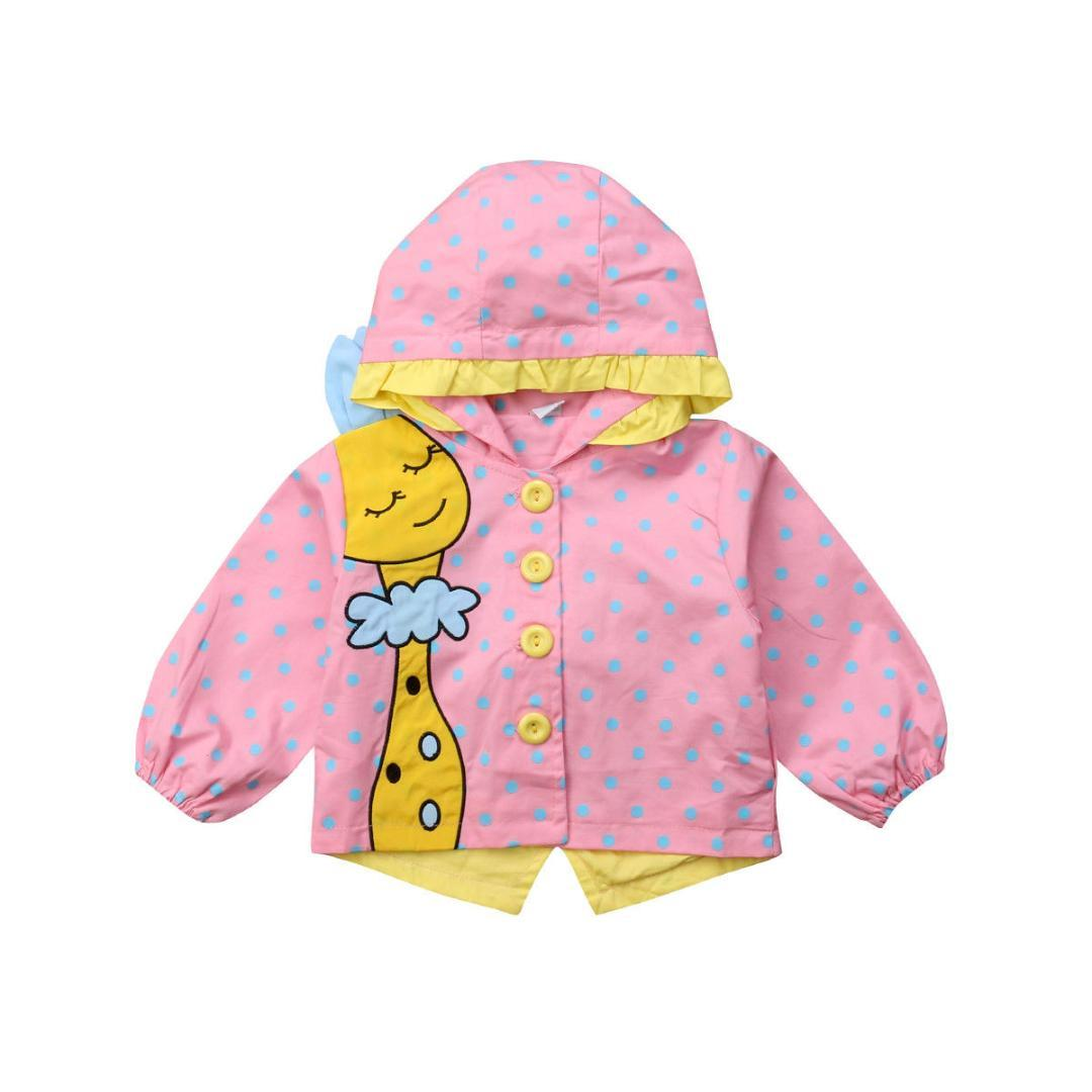 434e0f694 2019 Brand New Autumn Winter Toddler Baby Girls Coat Jacket Long ...