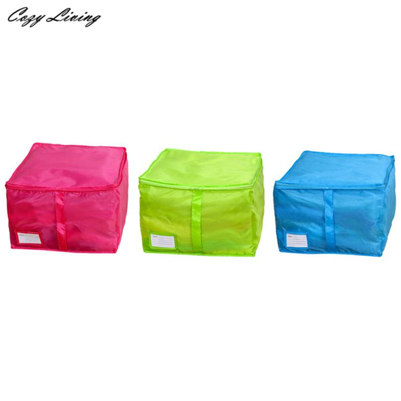 Satın Al Küçük Boy Giyim Saklama Kutuları 3 Renkler Yorgan Sıralama