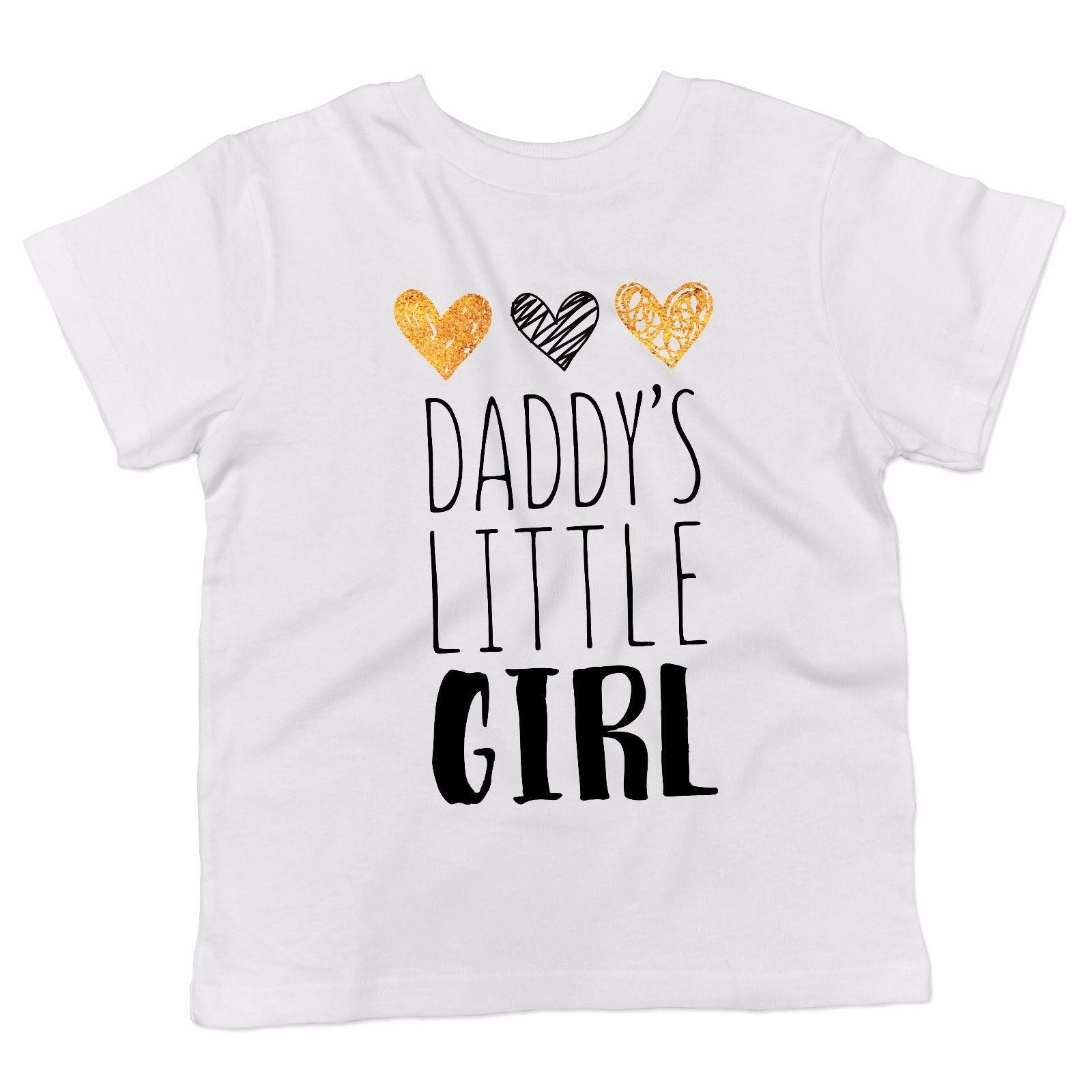 Baby T Shirt Daddys Little Girl Maglietta Abbigliamento Neonato Bianco Tees Custom Jersey T Shirt Hoodie Hip Hop T Shirt