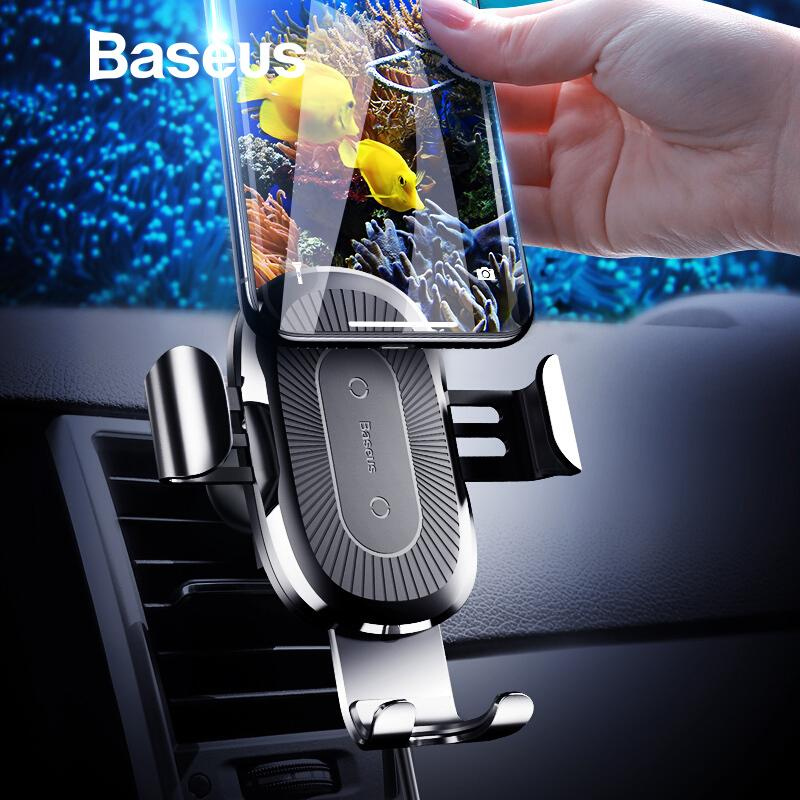 brand new eb319 c6fbf Car Mount Qi Wireless Charger For Iphone X 8 Plus Quick Charge Fast  Wireless Charging Car Holder Stand For Samsung S9 S8