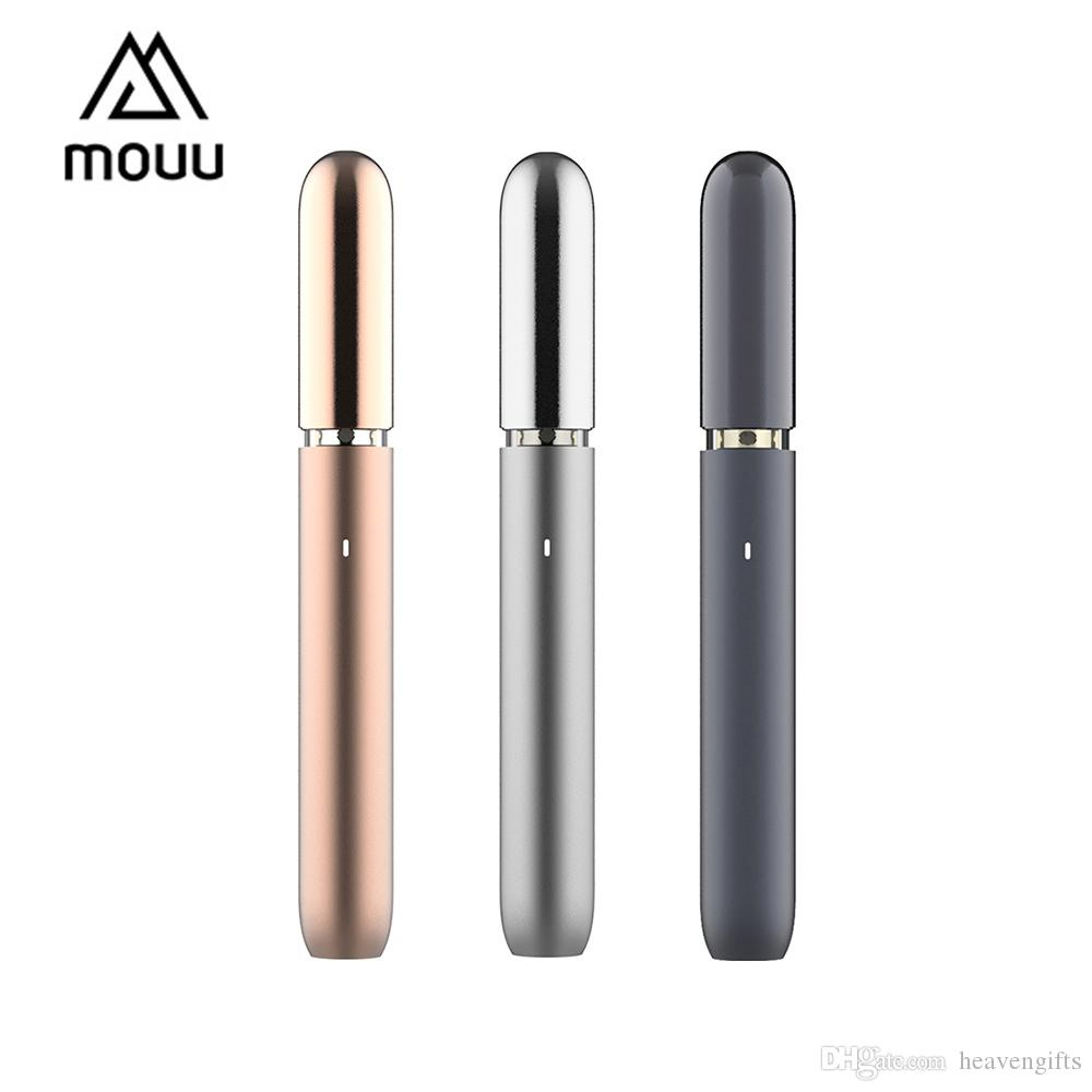 MOUU Cliq Pod Starter Kit 420mAh MOUU Cliq Device 1.4ml ricaricabile MOUU Cliq Pod 1.4ohm bobina ceramica on-the-go vape