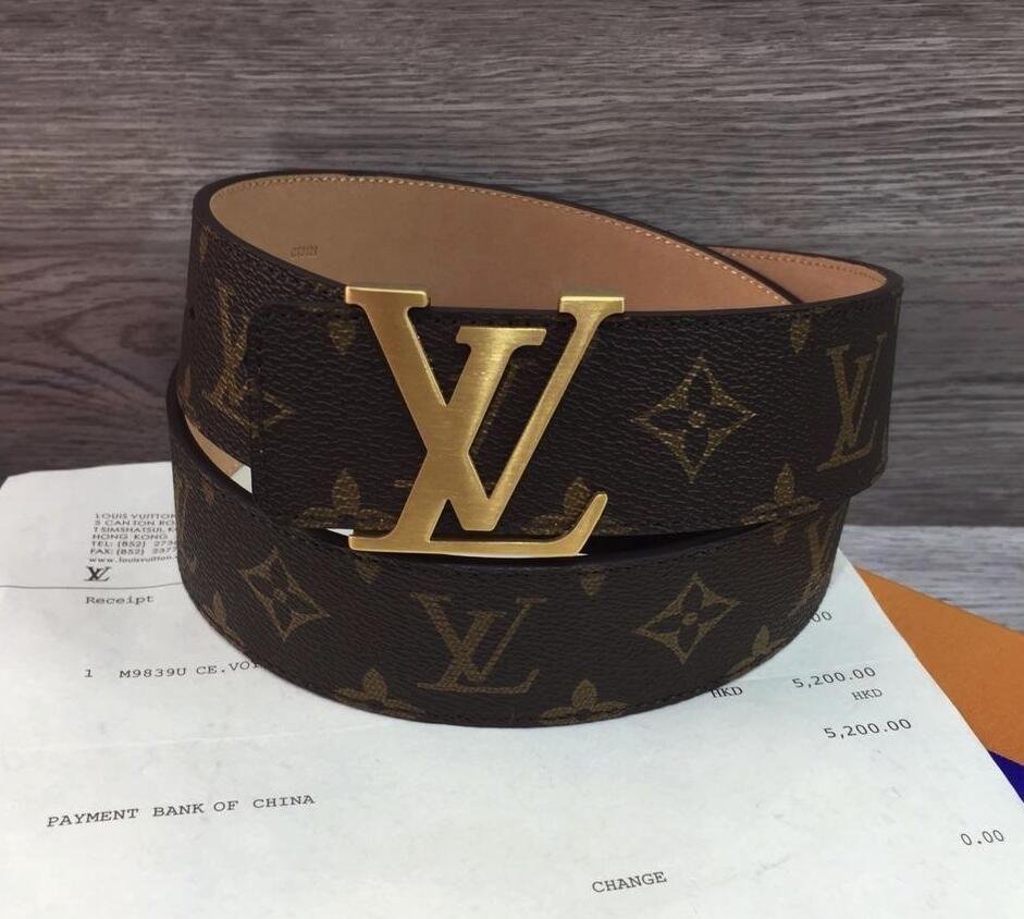 0d6ed616b999 2018 Hot Luxury Black Belts Designer Belts for Men Bee Pattern Belt ...