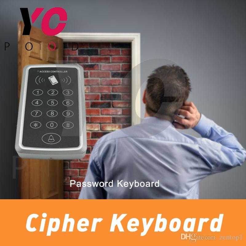 Cipher Keyboard escape room props enter right password on the keyboard to  unlock use ID card trigger Password Keyboard takagism