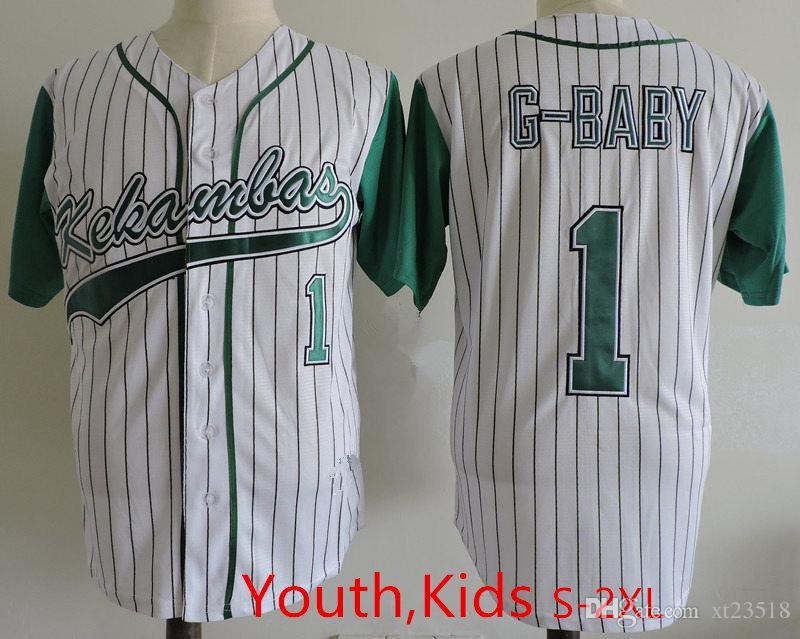 2019 Youth Stitched The Hardball Film Kekambas Baseball Jerseys Kids Boys   1 Jarius G Baby Evans ARCHA Duffys Patch Jersey S 2XL From Xt23518 9b7bcc31ed