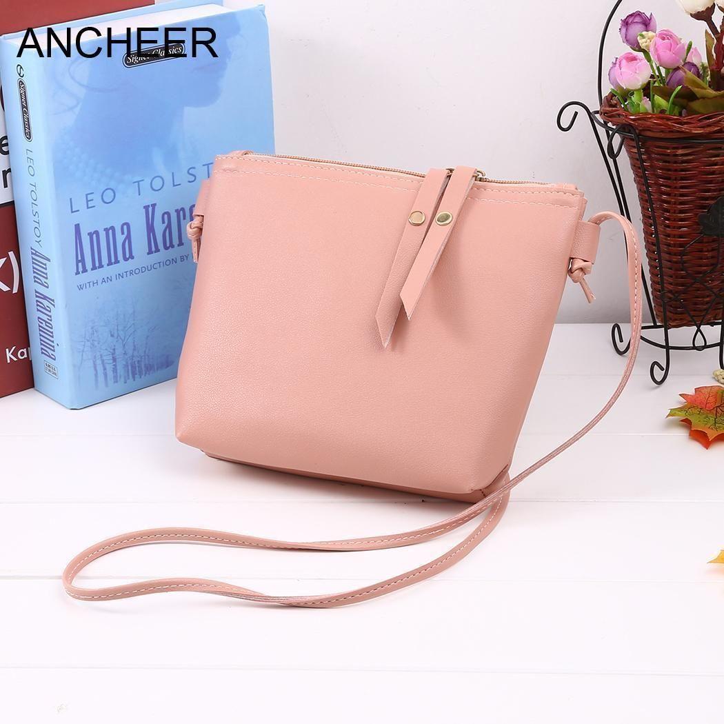 f0a6d85467 Cheap Fashion Square Mini Women Solid Zipper Closure Shoulder Bag Handbag  Wholesale Hobo Purses From Bags3