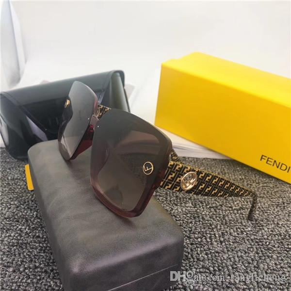 New High quality Brand Fashion Men and women Sunglasses UV Protection Outdoor Sport Vintage Women Sunglasses Retro Eyewear With box