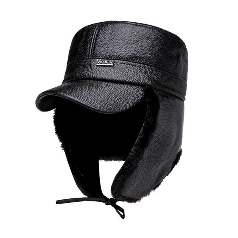 df3fb215ef2 2019 Velvet Men S Korean Flat Cap Winter Wild Middle Aged Outdoor Leisure  Thickened Warm Earmuffs Hat Hiking Mountaineering Hat From Cutport