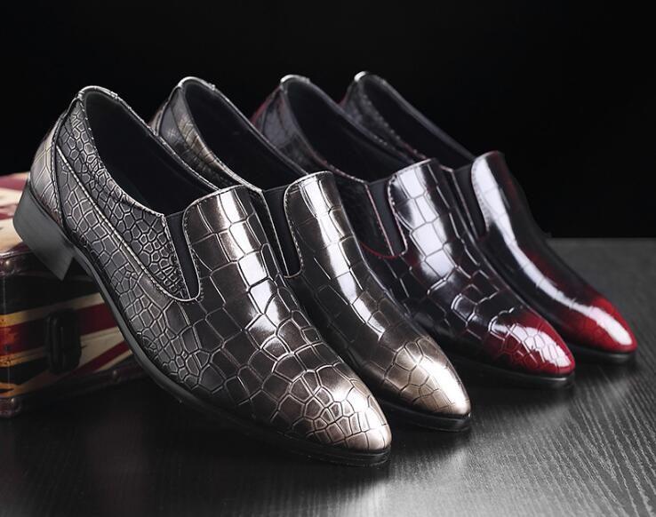 new product 59205 b817b Scarpe da uomo in pelle Casual 2016 Primavera / Estate Moda Scarpe per uomo  Designer scarpe da uomo Casual traspirante Scarpe da uomo Comfort ...
