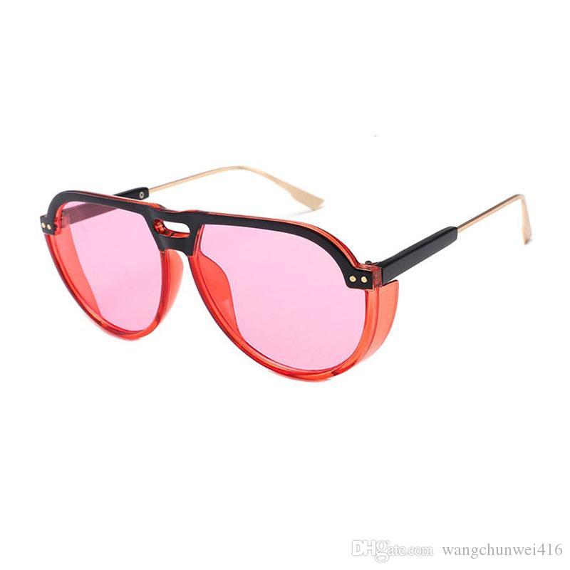 49b53a2accbd Luxury Sunglasses Oversized Sunglasses Female Sunglass Points Sun ...