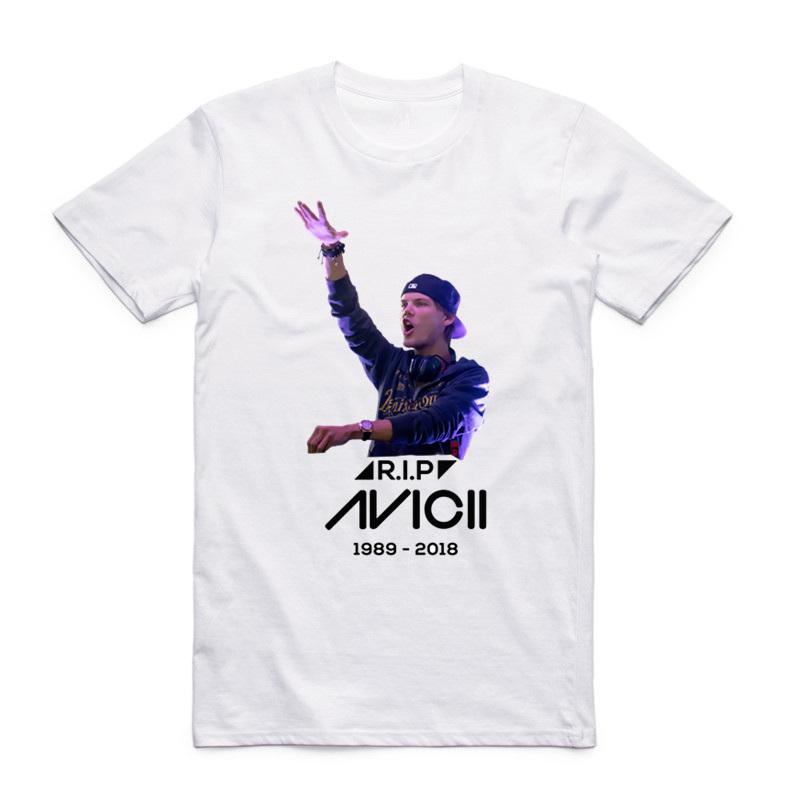 4196ac66 Men Women Print Music Dj Avicii T Shirt Short Sleeves O Neck Summer Casual  Wake Me Up Unisex T Shirt Shirts With Design Unique T Shirts For Sale From  ...