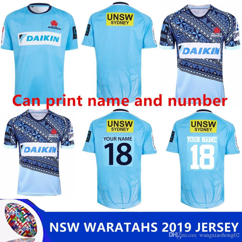 071ffe54ee8 2019 NSW WARATAHS 2019 HOME JERSEY NSW WARATAHS 2017 HOME JERSEY 2017 2018 WARATAHS  Rugby Jersey Shirt Size S 3XL Can Print From Wangxiaohong02, ...