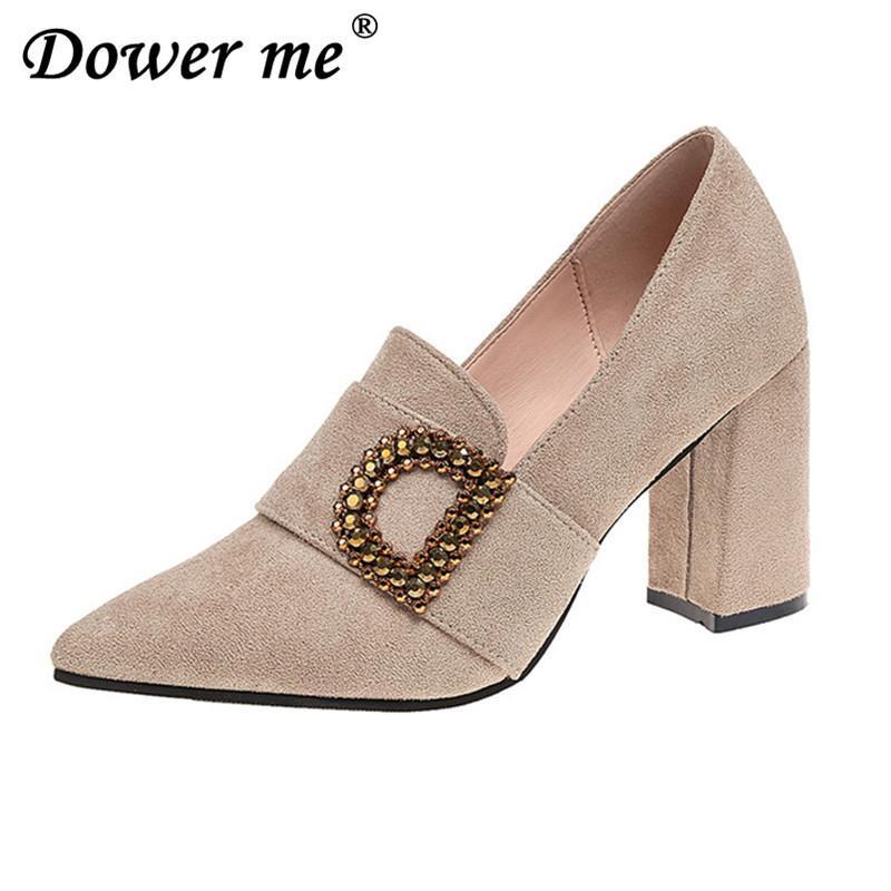 bd9bb954cdd Acheter Designer Robe Chaussures Size35 39 Nouvelle Mode Printemps Automne  Femmes Pompes Compensées Talons Bowtie Femme Western Style Dames Chaussures  ...
