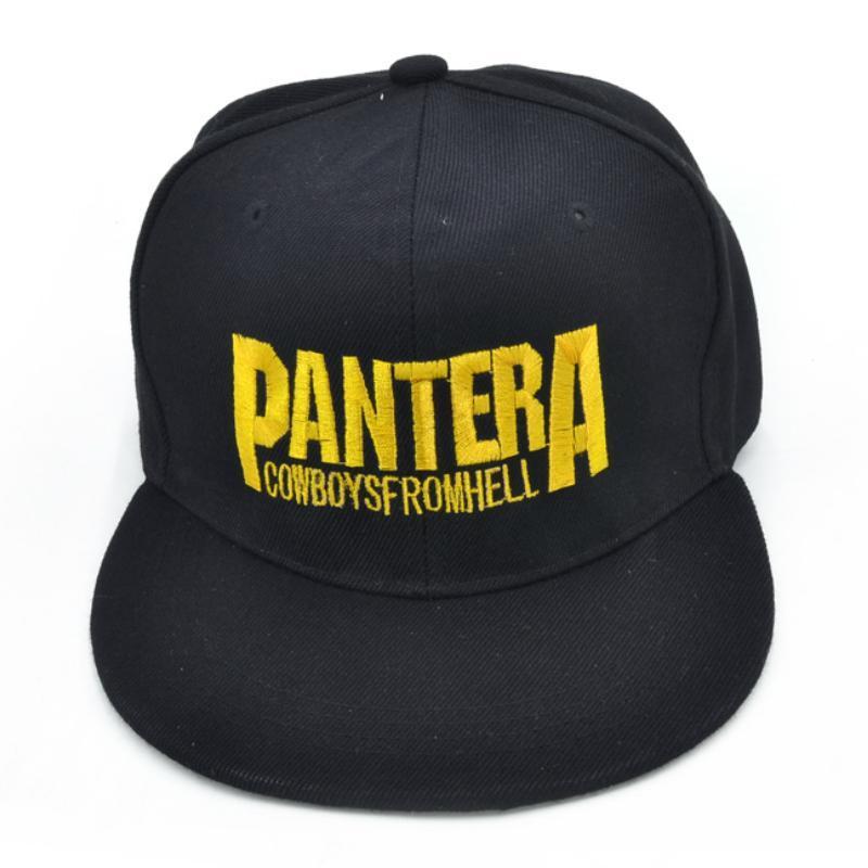 Compre Pantera Banda De Heavy Metal Letra Gorras De Béisbol Cowboys From  Hell Rock Gorra De Hip Hop Moda Sombrero Del Snapback De Hombres Y Mujeres  A  7.04 ... ac2379d5839