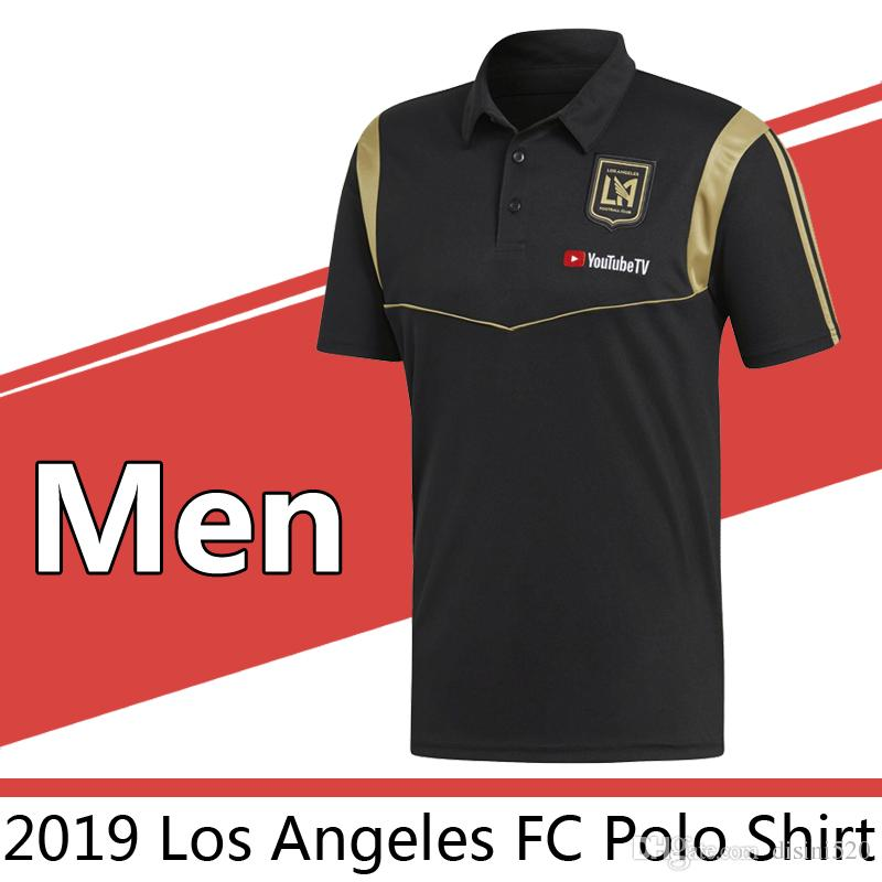 2019 Los Angeles FC Polo Shirt Football Jerseys Soccer Jerseys 2019 ... bf58eb761