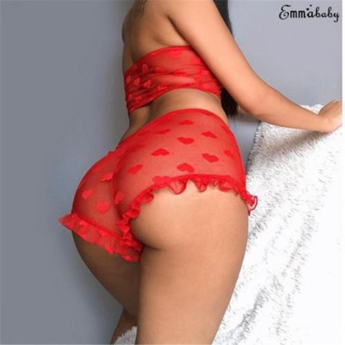 Ladies Mesh Floral Lace Underwear Set Womens Sexy Satin Bralette Mutandine Pigiameria Abbigliamento da notte Lingerie Camicia da notte Pigiama