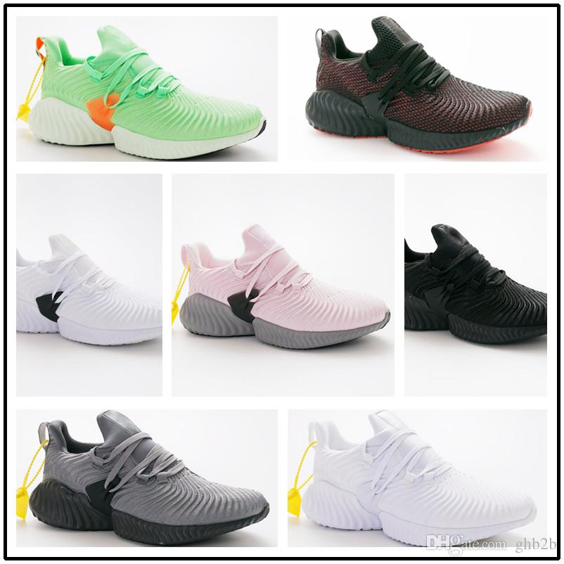 b53fd71d8 2019 Cheap Sale AlphaBounce M V3 Alpha Bounce 3 Running Shoes For Top Sales  3s Black White Blue Men Women Outdoors Sneakers Size 36 45 From Ghb2b