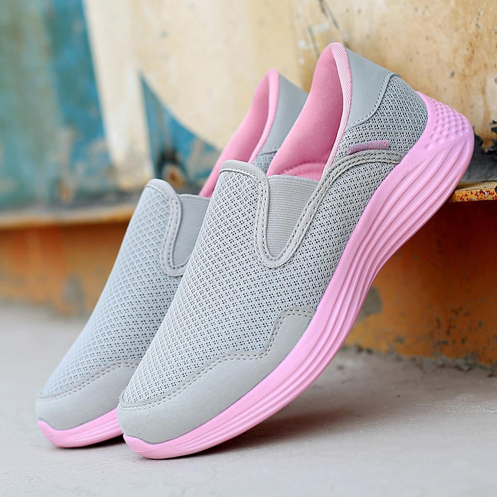 XINIU Breathable Mesh Summer Shoes Woman Comfortable Cheap Casual Ladies Shoes Outdoor Sport Women Sneakers for Walking #0704