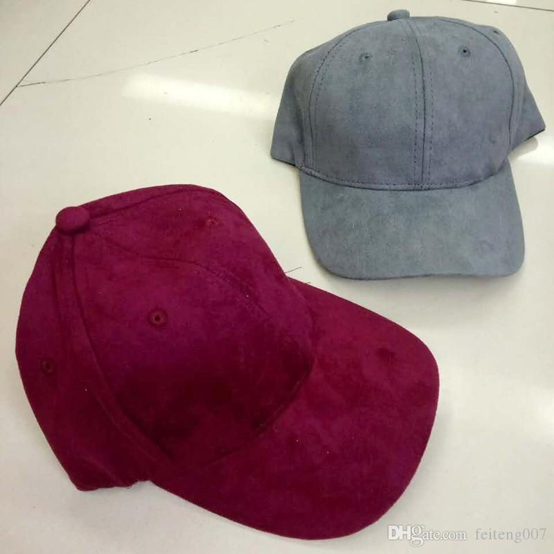 da89ceedb4fabc 2019 MAXSITI UPure Color Faux Suede Baseball Cap Can Be Adjusted Men'S And  Women'S Leisure Hats Accessories #17175 From Feiteng007, $17.89 | DHgate.Com