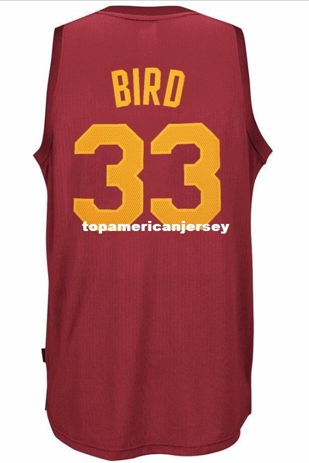 new concept da798 6ef0a Larry Bird #33 Sewn Hickory Hardwood Classics AD Top Jersey Mens Vest Size  XS-6XL Stitched basketball Jerseys Ncaa