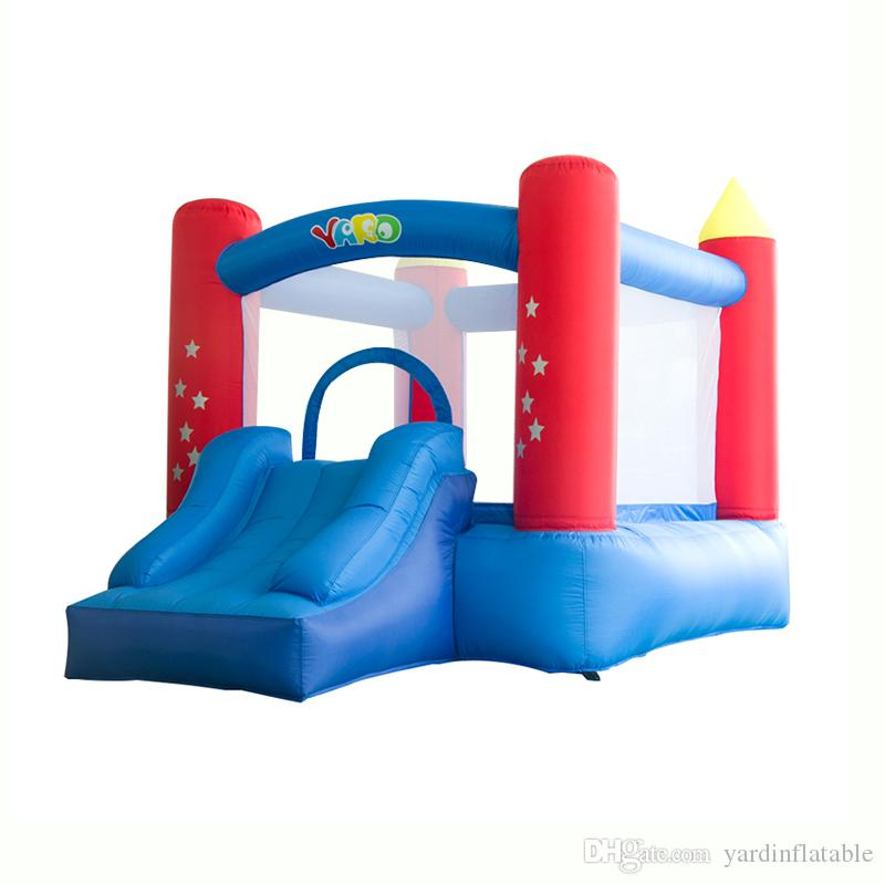 4706719c6d0 2019 YARD Home Use Blow Up Kids Jump House Bouncy Castle Residential Bounce  House With Air Blower From Yardinflatable