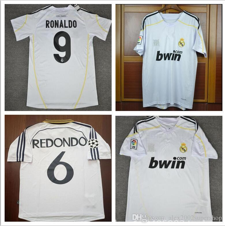 c8678d692c5 2019 09 10 Real Madrid Ronaldo Retro Jerseys Sergio Ramos V.Nistelrooy Kaka  Guti.HAZ 2009 2010 Shirt From Alex2002supershop