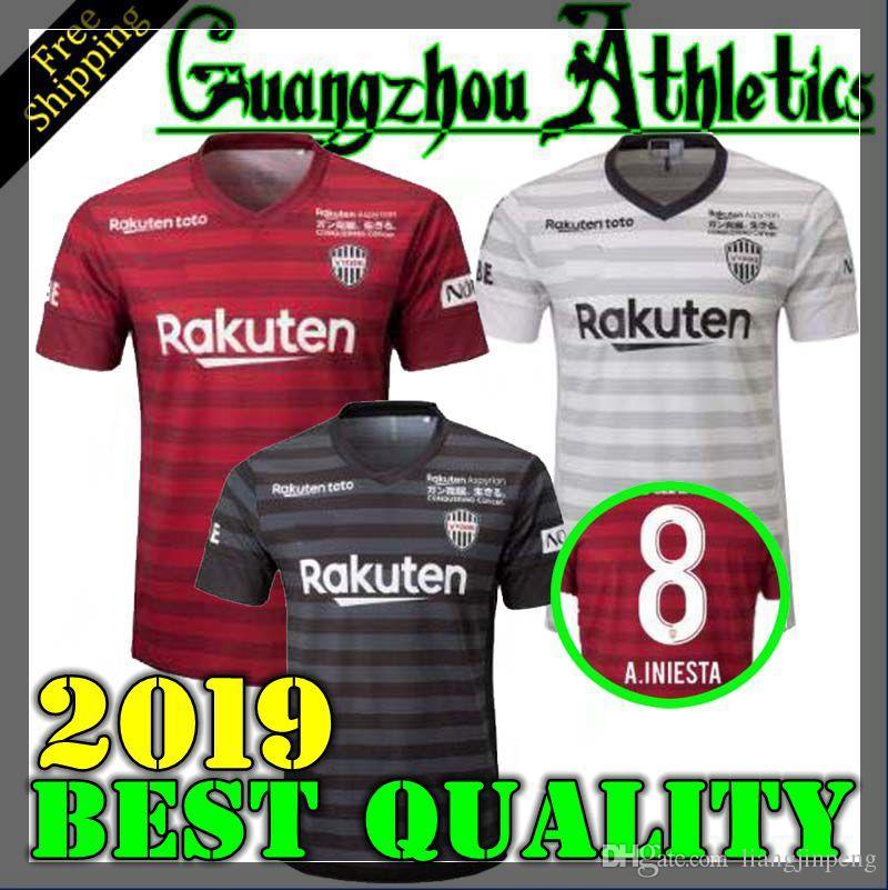 2371d289a9d 2019 Best 2019 Vissel Kobe Soccer Jersey Home Away Third 19 20 A.INIESTA  PODOLSKI DAVID VILLA Football Shirts Top Quality Customize From  Liangjinpeng, ...