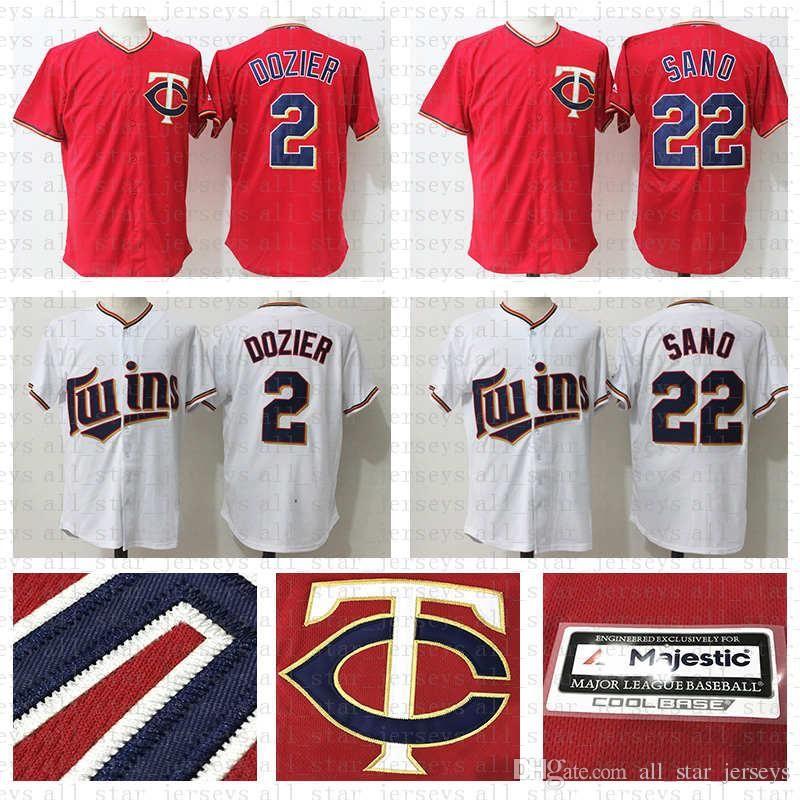 4981ddfa0ec 2019 2019 New 2 Brian Dozier 22 Miguel Sano Retro Jerseys Cool Base Mesh Minnesota  4 Paul Molitor Twins Baseball Jersey 34 Kirby Puckett From ...