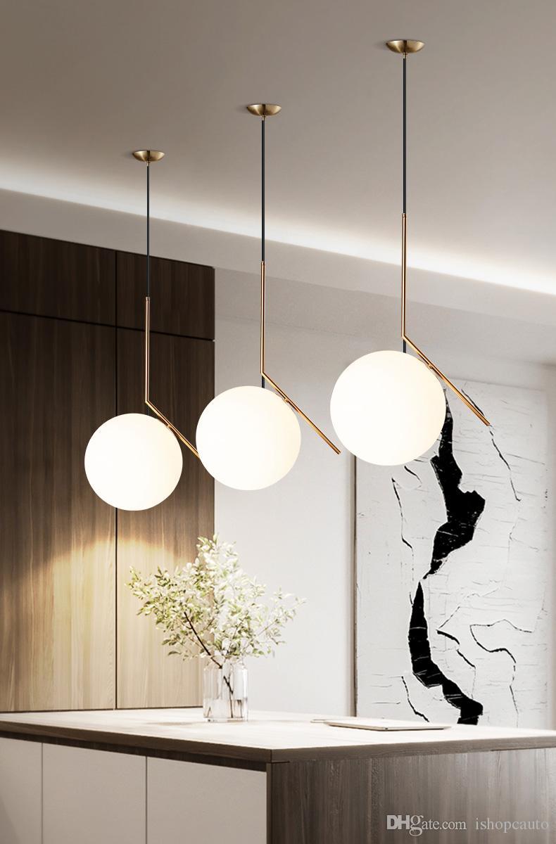 Acheter Style Moderne Salon Chambre Restaurant Minimaliste Pendant ...