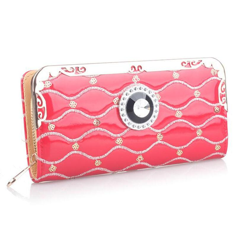 07365175f0b Long Ladies Leather Women Wallets Portfolio Luxury Brand Designer Female  Clutch Coin Purses Money Bag Cuzdan Walet Pocket Vallet