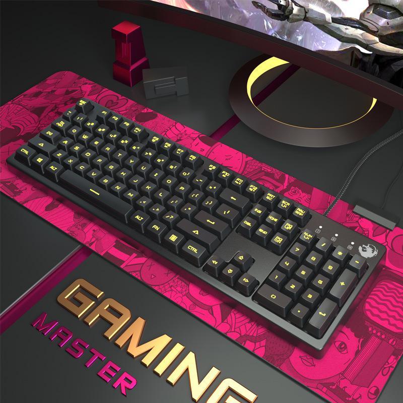 f6fe3ff5385 G1 Game Keyboard Mechanical Keyboard Touch LED Backlight Game ...