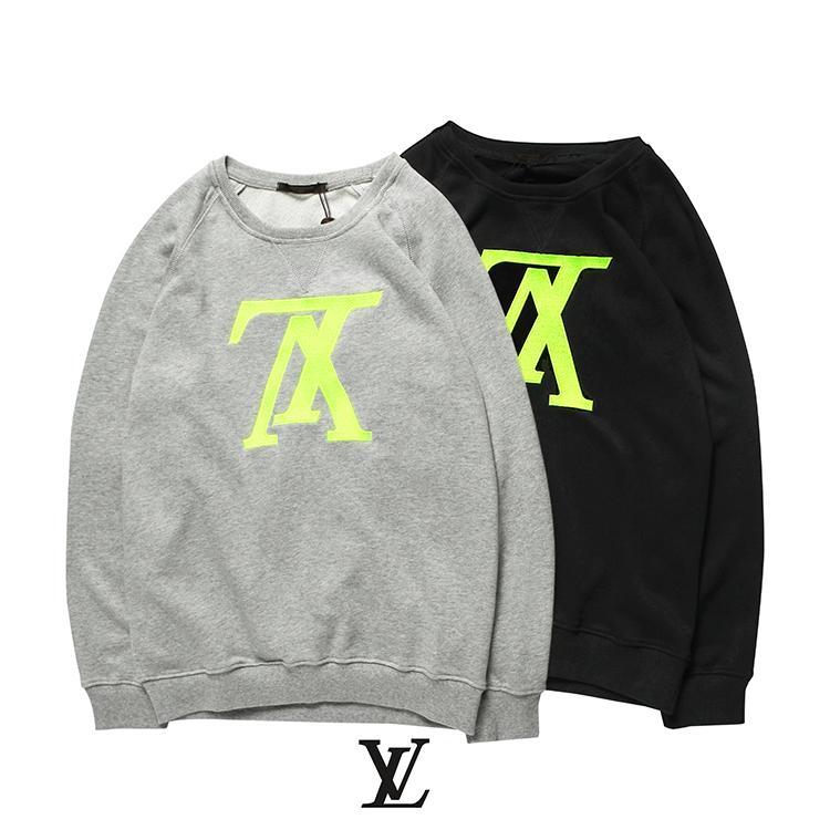 5c54914fe7c99 Satın Al Uzun Kollu Yeni Marka Kazak Lüks Yüksek Kaliteli Giyim Sonbahar  Profesyonel Hoodie Bayan Ve Erkek Tişörtü Şık, $43.66 | DHgate.Com'da