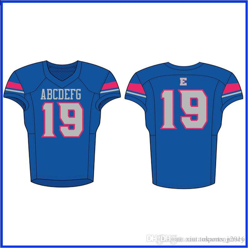 Custom Football Jerseys Good Quality Quick Dryfast Shippping Red Blue Yellow KLHZXCVVC