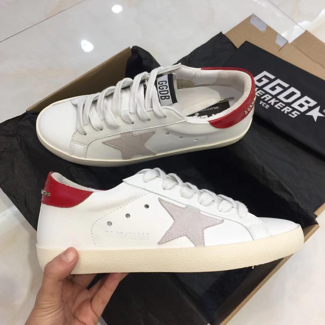 0a101c1cb96ef Top Selling For Golden Goose Ggdb Old Style Genuine Leather Villous Dermis  Casual Shoes Mens And Women Kn Superstar Trainer 36 3 Slip On Shoes Formal  Shoes ...