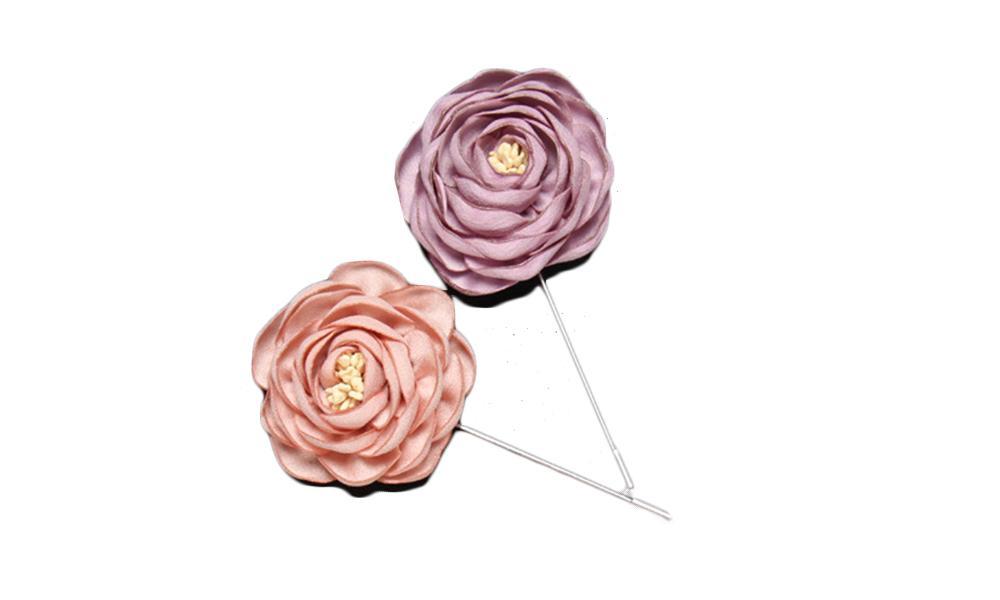 2019 Handmade Rose Flower Corsage Boutonniere Stick Brooch Pin Women Men Wedding Anniversary Xmas Party Suit Ornament Lapel Pins From Creativebar